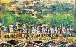Poh-Siew-Wah-Boat-Quay-series-oil-on-canvas-73-x-60cm-4800-