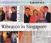Wilwayco in Singapore