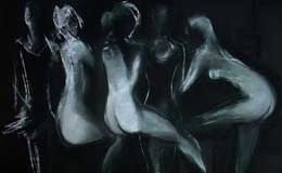 Rene-Robles,-Nude-series,-pastel-on-paper,-19-x-25-inches