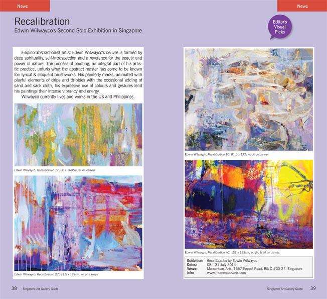 Recalibration Edwin Wilwayco – Editor's Visual Pick