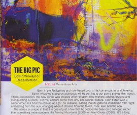 The Big Pic – Edwin Wilwayco Recalibration