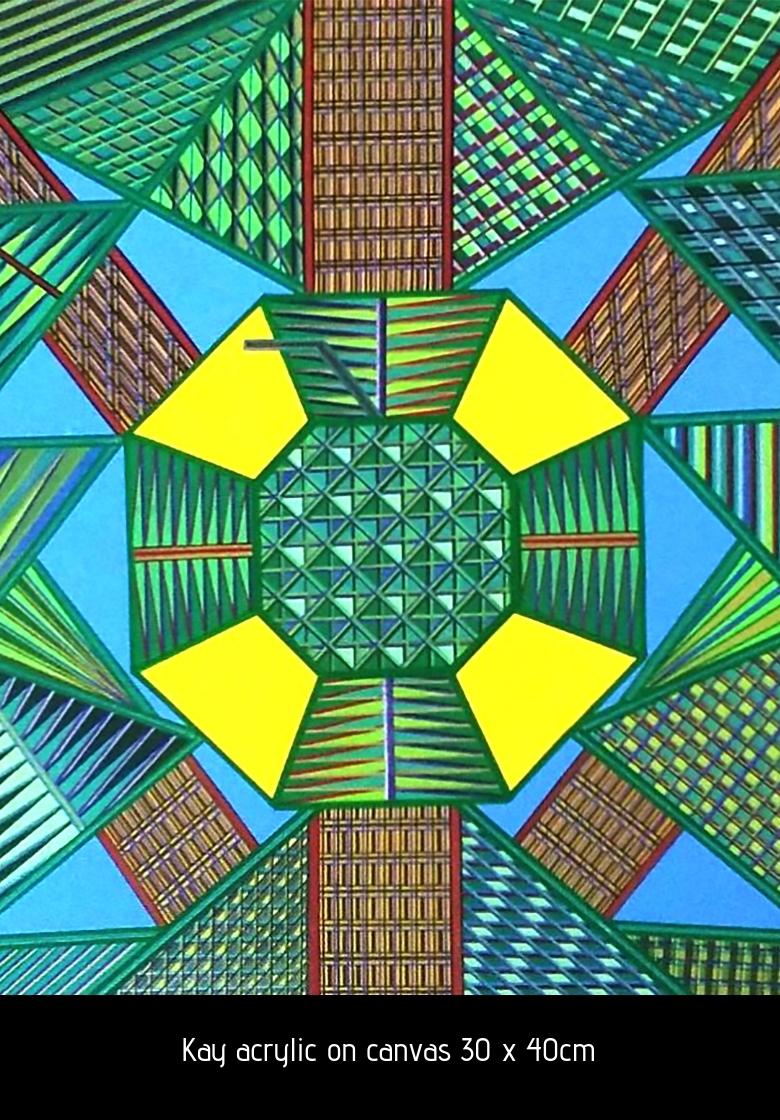 Copy of Kay acrylic on canvas