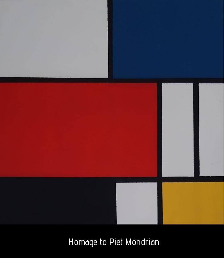 Homage to Piet Mondrian
