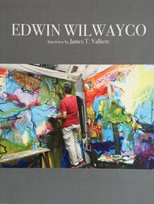 Art historian James T. Valliere interviews artist Edwin Wilwayco