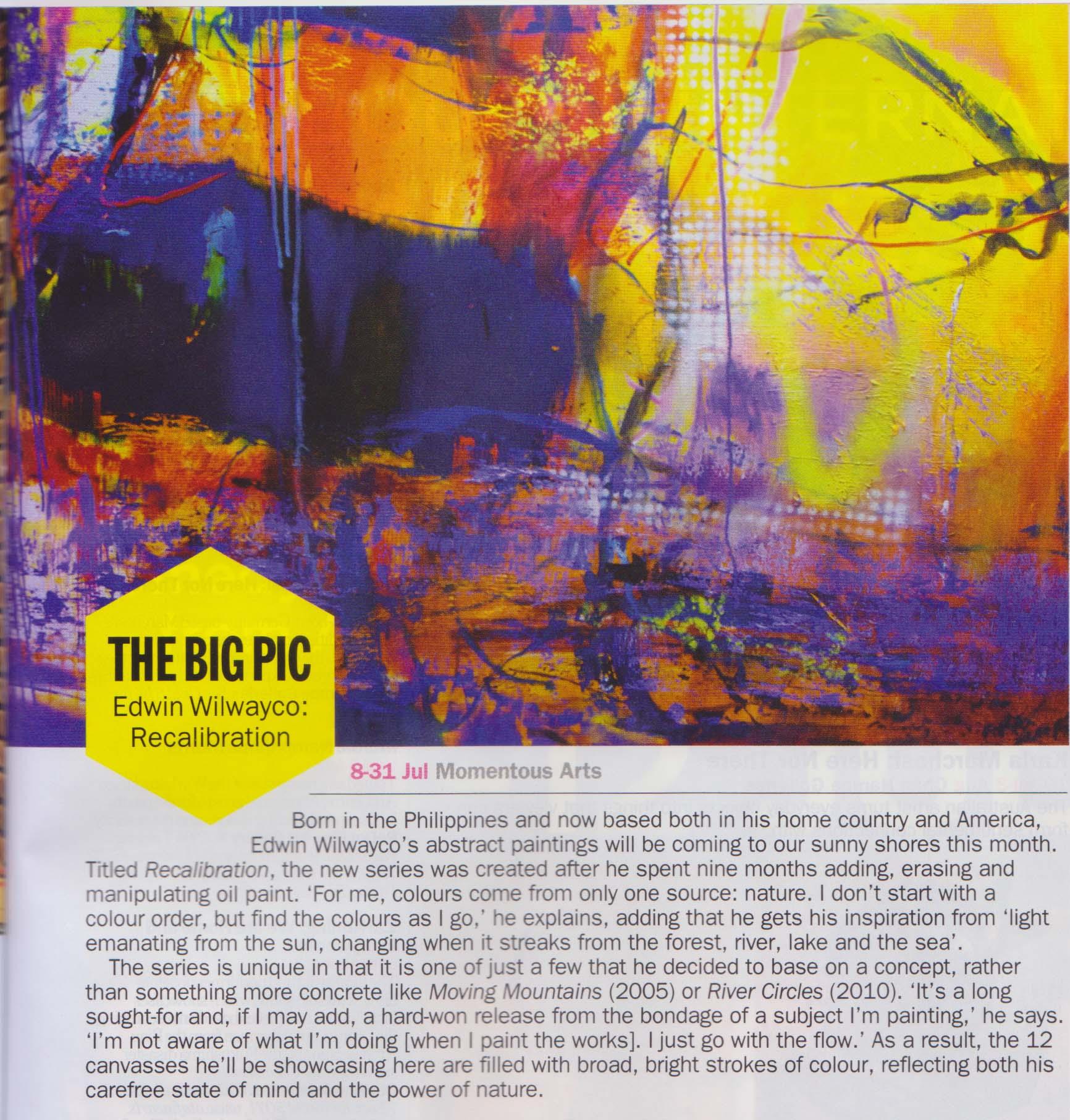 The Big Pic - Edwin Wilwayco